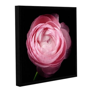 ArtWall 'Cora Niele's Pink III' Gallery Wrapped Floater-framed Canvas