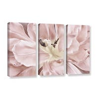 ArtWall 'Cora Niele's Pastel' 3-piece Gallery Wrapped Canvas Set - Multi