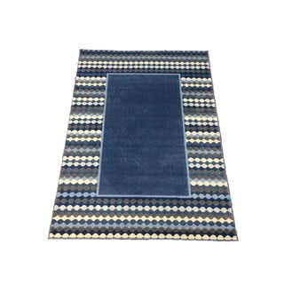 LYKE Home Sofia Transitional Blue Area Rug (8' x 11')