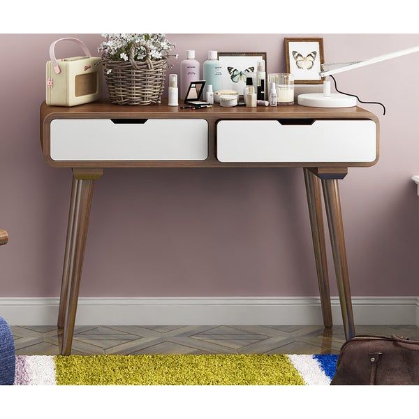 Porthos Home Ruby Natural 2 Drawer Console Table
