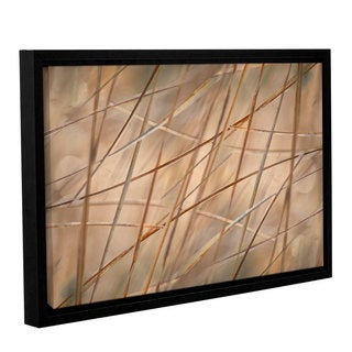 ArtWall 'Cora Niele's Deschampsia' Gallery Wrapped Floater-framed Canvas