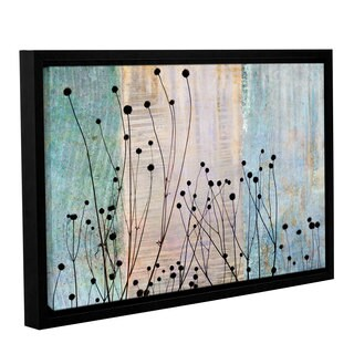 ArtWall 'Cora Niele's Dark Silhouette II' Gallery Wrapped Floater-framed Canvas