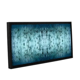 ArtWall 'Cora Niele's Coincident Series V' Gallery Wrapped Floater-framed Canvas