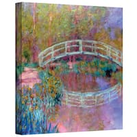 ArtWall 'Claude Monet's Japanese Bridge' Gallery Wrapped Canvas - multi
