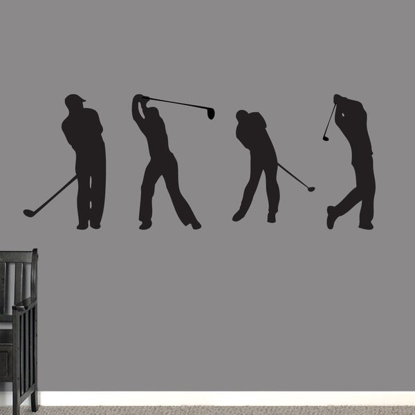 Golf Guys Large Wall Decal Set