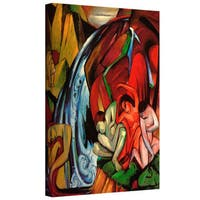 ArtWall 'Franz Marc's Gazelles' Gallery Wrapped Canvas - Multi