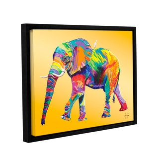 ArtWall 'Linzi Lynn's the Ride' Gallery Wrapped Floater-framed Canvas