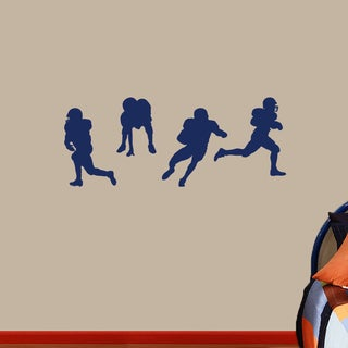 Football Players Medium Wall Decals