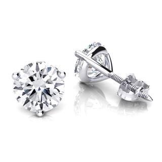 Luxurman 14k Gold 1/4ct TDW Solitaire Round Diamond Martini Stud Earrings https://ak1.ostkcdn.com/images/products/11373073/P18342689.jpg?impolicy=medium