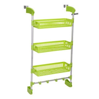Household Essentials 3-Basket Over-the-Door Organizer
