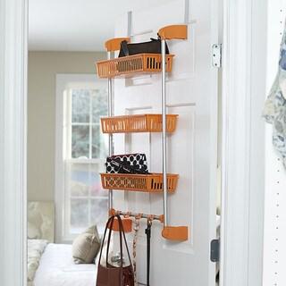 Household Essentials 3-Basket Over-the-Door Organizer
