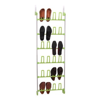 Household Essentials 12-Pair Over-the-Door Shoe Rack