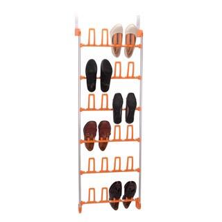 Household Essentials 12-Pair Over-the-Door Shoe Rack