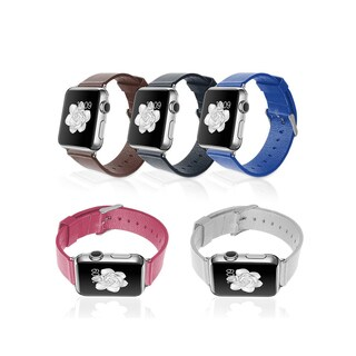 iPM PU Leather Replacement Strap ror Apple Watch (5 options available)