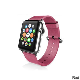 iPM PU Leather Replacement Strap ror Apple Watch