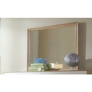 Hashtag Fun Drawer Dresser Mirror - Beige/Brown