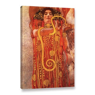 ArtWall 'Gustav Klimt's Hygieia' Gallery Wrapped Canvas