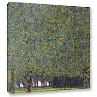 ArtWall 'Gustav Klimt's The Park' Gallery Wrapped Canvas - Multi