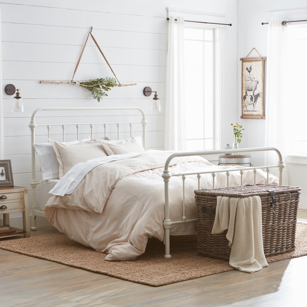 Connie Taupe Cotton Seersucker Duvet Cover