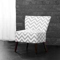Avenue Greene Megan Chevron Accent Chair