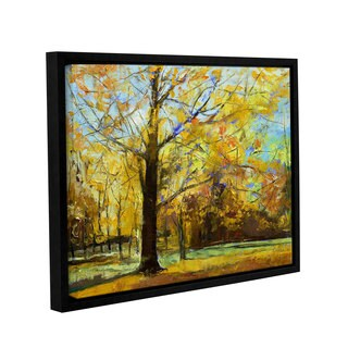 ArtWall 'Michael Creese's Shades of Autumn' Gallery Wrapped Floater-framed Canvas