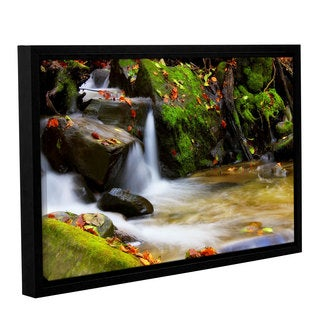 ArtWall 'Dragos Dumitrascu's Timeless Forest' Gallery Wrapped Floater-framed Canvas