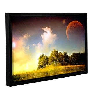 ArtWall 'Dragos Dumitrascu's Everlasting Season' Gallery Wrapped Floater-framed Canvas