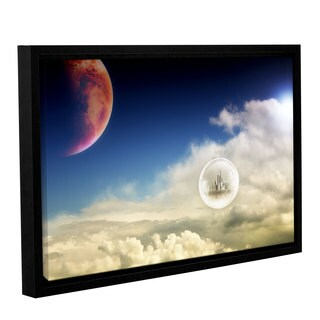 ArtWall 'Dragos Dumitrascu's Atlantis' Gallery Wrapped Floater-framed Canvas
