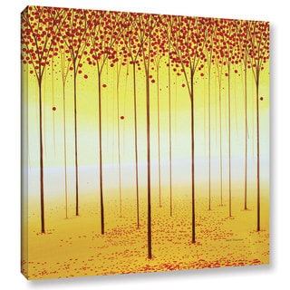 ArtWall 'Herb Dickinson's Fairy Forest' Gallery Wrapped Canvas