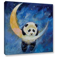 ArtWall 'Michael Creese's Panda Stars' Gallery Wrapped Canvas