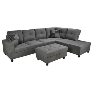 Siano Grey Right Hand Facing Sectional