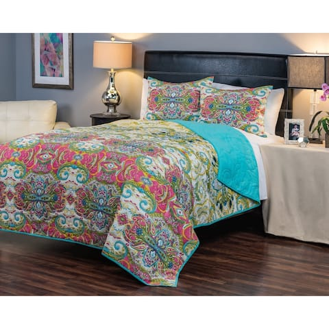 Rizzy Home Carnivalle Quilt - Multi