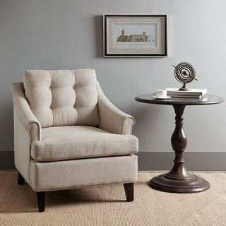 Madison Park Collin Sand Tufted Club Chair
