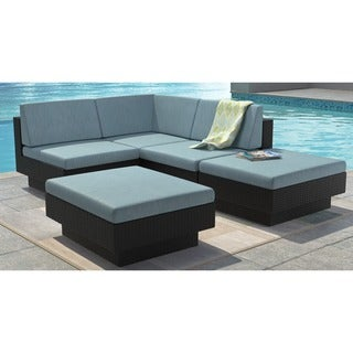 Oliver & James Balla 5-piece Outdoor Sectional Set