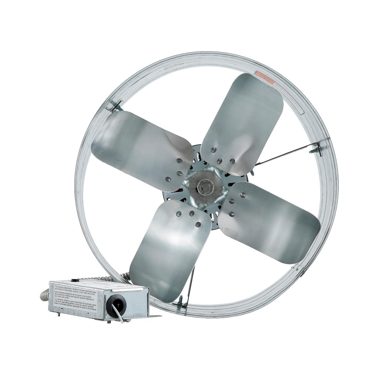 USA iLIVING Automatic Gable Mount Attic Ventilator Fan wi...