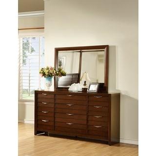 LYKE Home Lana 12-drawer Dresser and Mirror Set