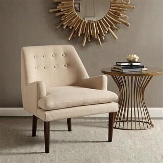Madison Park Elsa Sand Mid-Century Accent Chair