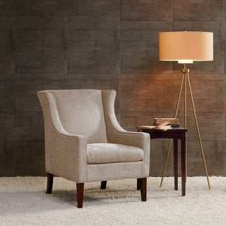 Madison Park Preston Cream Wing Chair