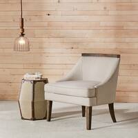 Madison Park Wiston Reclaimed Trim Accent Chair