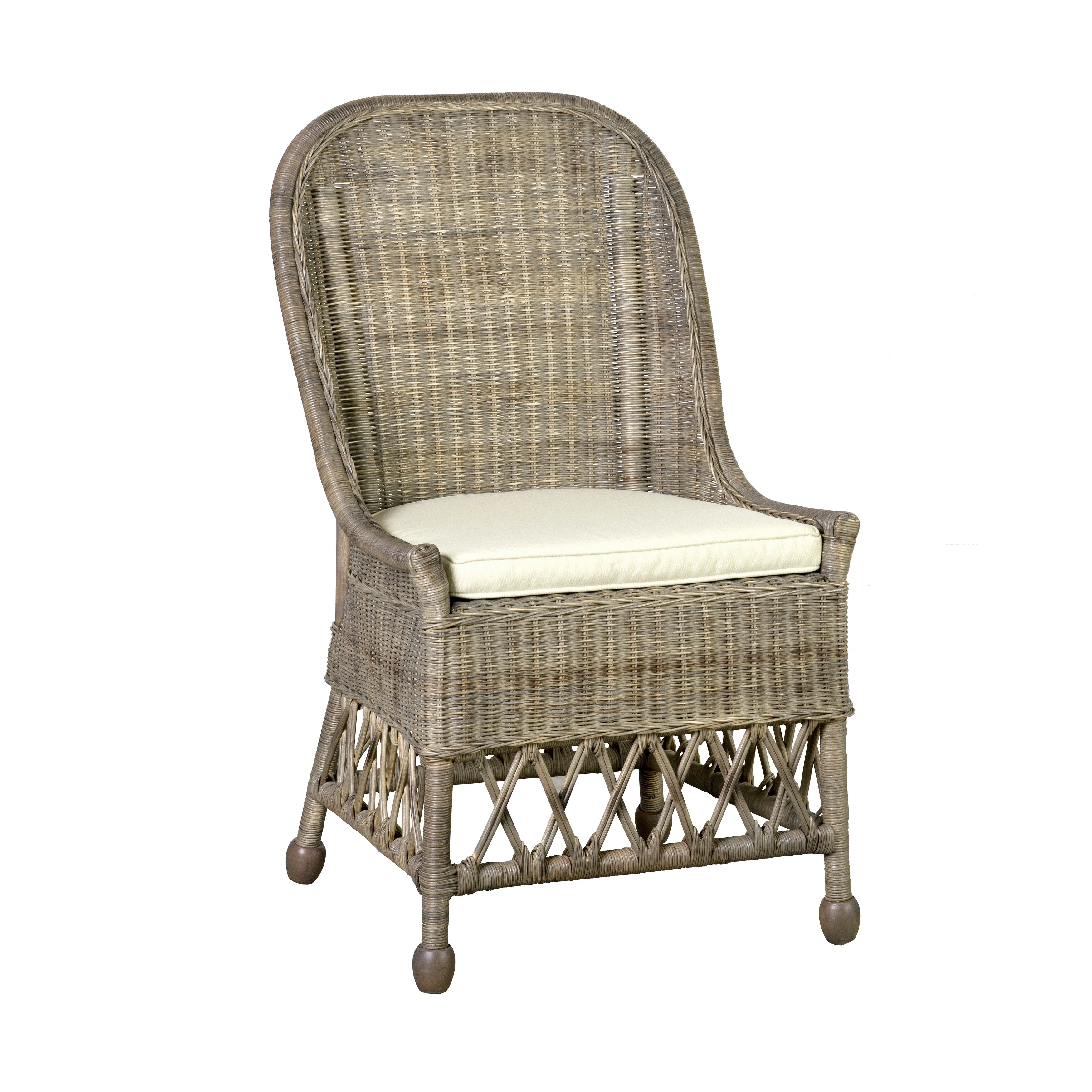 Astounding East At Mains Ruth Rattan Dining Chair Bralicious Painted Fabric Chair Ideas Braliciousco