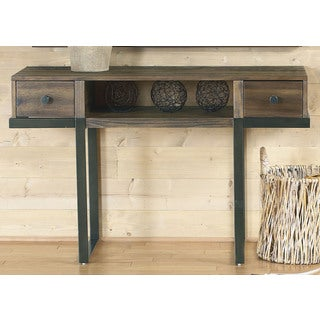 Paxton Wire Brushed Floating Design Sofa Table