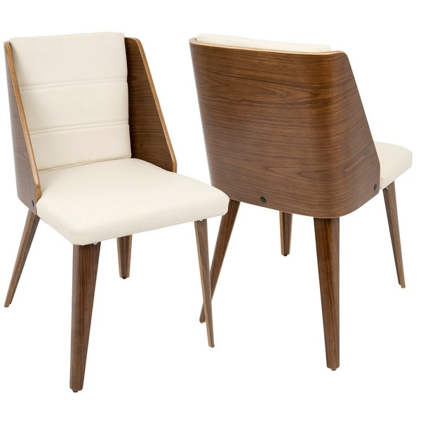 Phenomenal Shop Galanti Mid Century Modern Faux Leather Dining Accent Ibusinesslaw Wood Chair Design Ideas Ibusinesslaworg