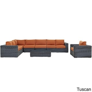Invite Outdoor Patio 7-piece Sectional Set