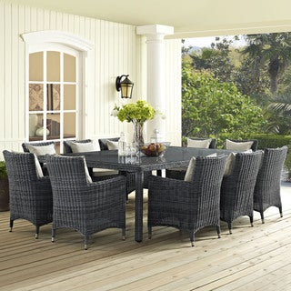 Invite Outdoor Patio 90-inch Dining Table