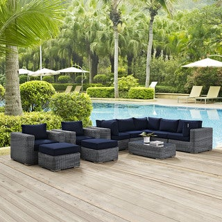 Invite Outdoor Patio 10-piece Sectional Set