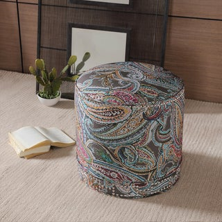 Madison Park Kida Nailhead Ottoman
