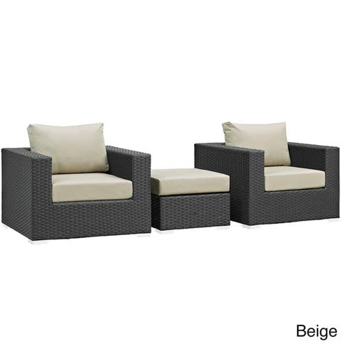 Stopover Outdoor Patio 3-piece Sectional Set