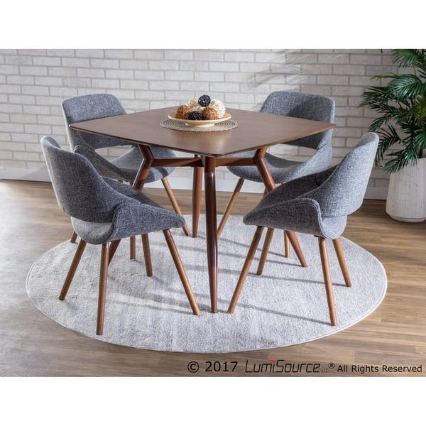 Brilliant Shop Fabrico Mid Century Modern Dining Accent Chair Set Pabps2019 Chair Design Images Pabps2019Com