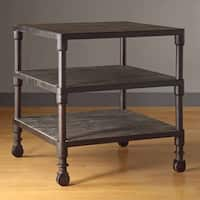 Madison Park Kagen Grey 3-Tier End Table