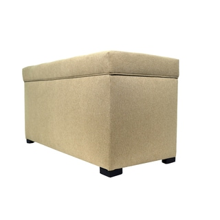 MJL Furniture Angela 8-button Tufted Allure Storage Trunk/ Bench